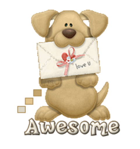 Awesome - PuppyLoveULetter