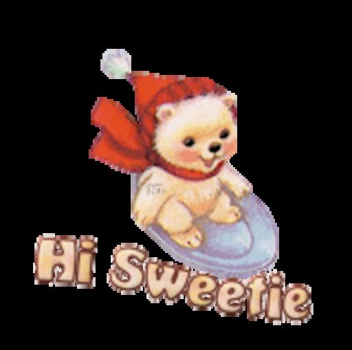 Hi Sweetie - WinterSlides