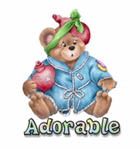 Adorable - BearGetWellSoon