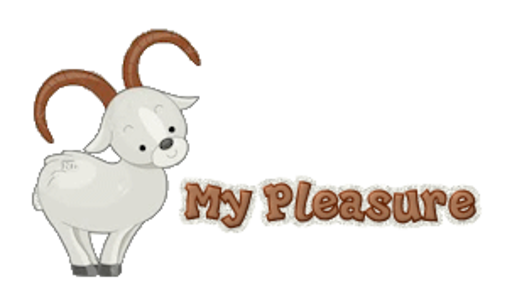 My Pleasure - BighornSheep