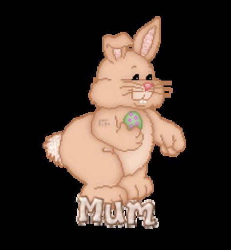 Mum - BunnyWithEgg
