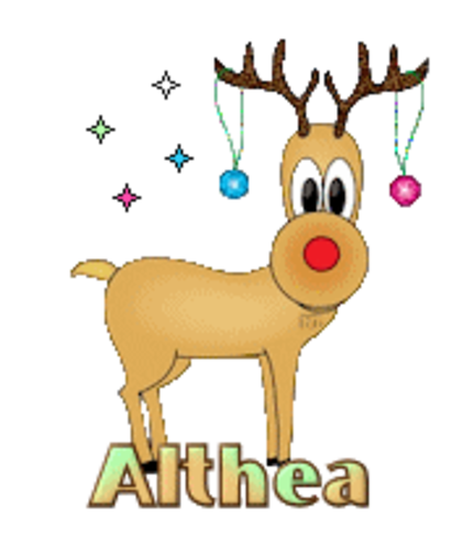 Althea - ChristmasReindeer