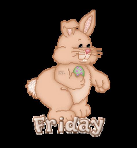 DOTW Friday - BunnyWithEgg