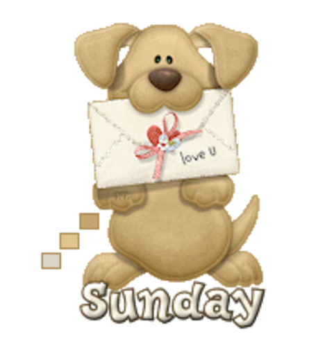 DOTW Sunday - PuppyLoveULetter