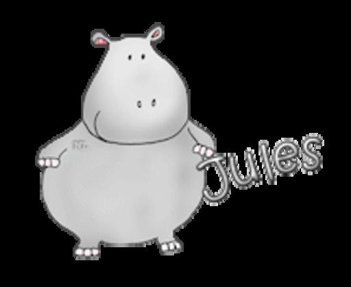 Jules - CuteHippo2018