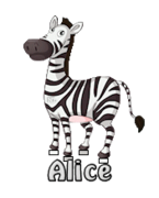 Alice - DancingZebra
