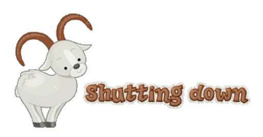 Shutting down - BighornSheep