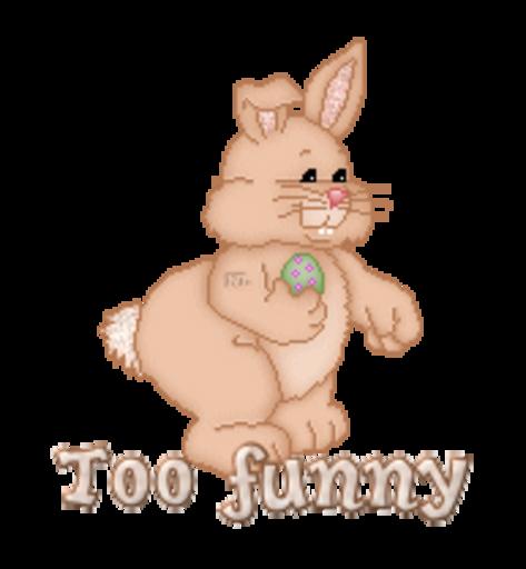 Too funny - BunnyWithEgg