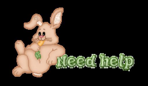 Need help - BunnyWithCarrot