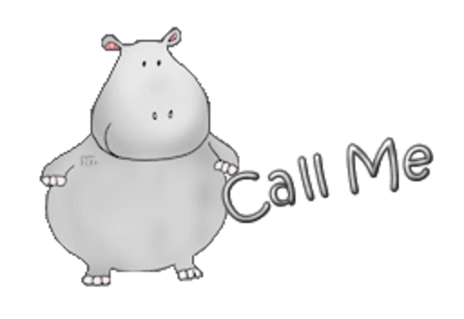 Call Me - CuteHippo2018