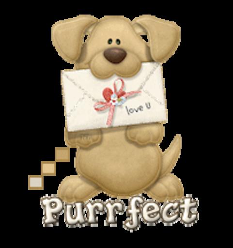 Purrfect - PuppyLoveULetter
