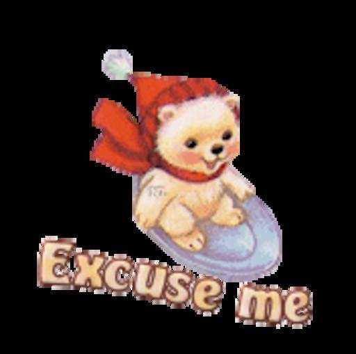 Excuse me - WinterSlides