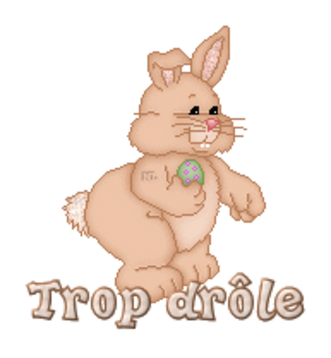 Trop drole - BunnyWithEgg