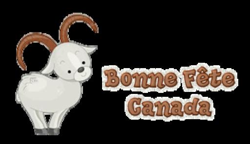 Bonne Fete Canada - BighornSheep