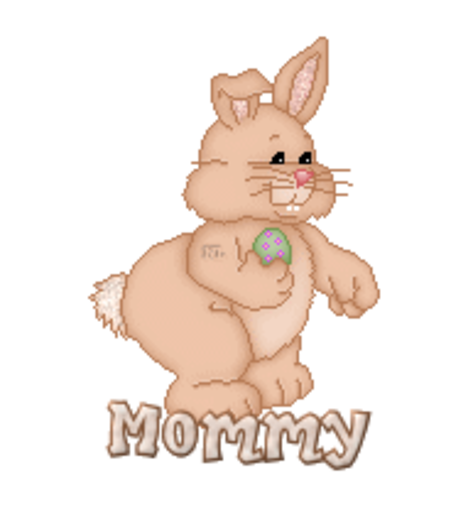 Mommy - BunnyWithEgg