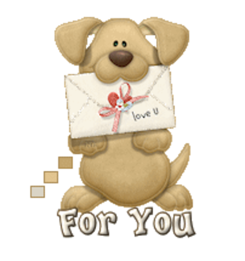 For You - PuppyLoveULetter