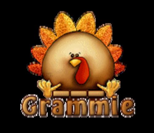 Grammie - ThanksgivingCuteTurkey