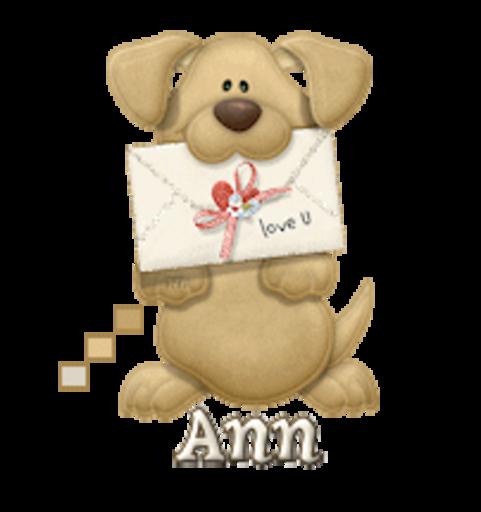 Ann - PuppyLoveULetter