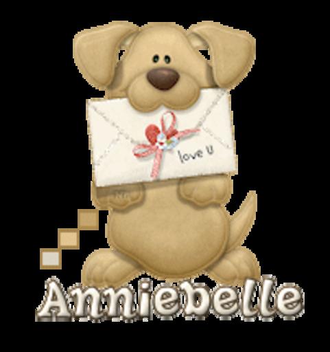 Anniebelle - PuppyLoveULetter