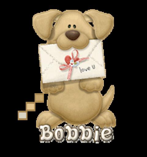 Bobbie - PuppyLoveULetter