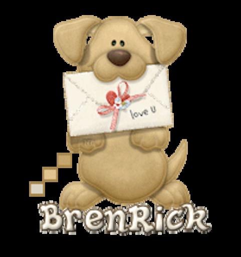 BrenRick - PuppyLoveULetter