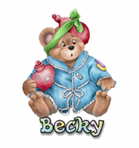 Becky - BearGetWellSoon