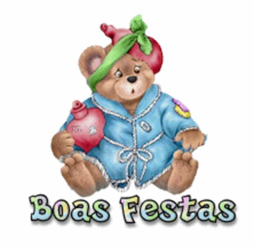 Boas Festas - BearGetWellSoon