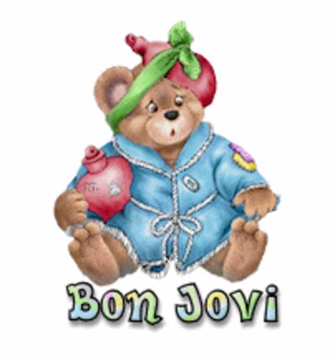 Bon Jovi - BearGetWellSoon