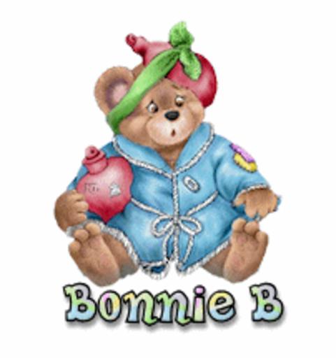 Bonnie B - BearGetWellSoon