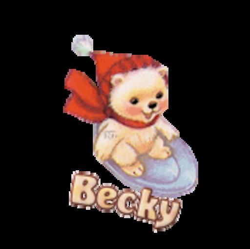 Becky - WinterSlides