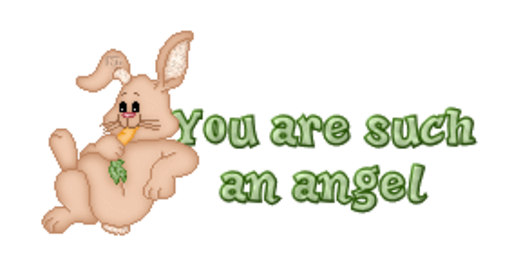 You are such an angel - BunnyWithCarrot