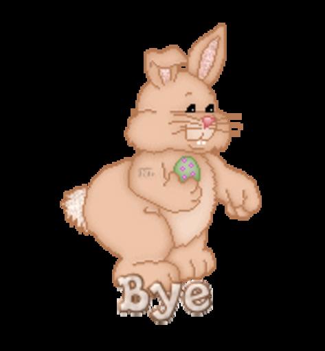 Bye - BunnyWithEgg