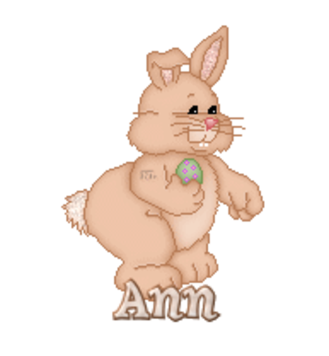 Ann - BunnyWithEgg