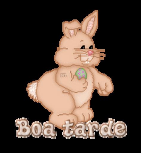 Boa tarde - BunnyWithEgg