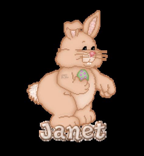Janet - BunnyWithEgg