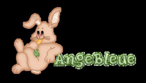 AngeBleue - BunnyWithCarrot