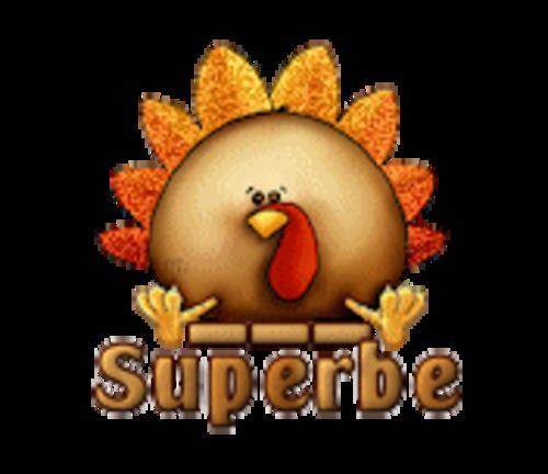 Superbe - ThanksgivingCuteTurkey