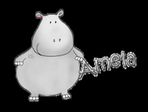 Amela - CuteHippo2018