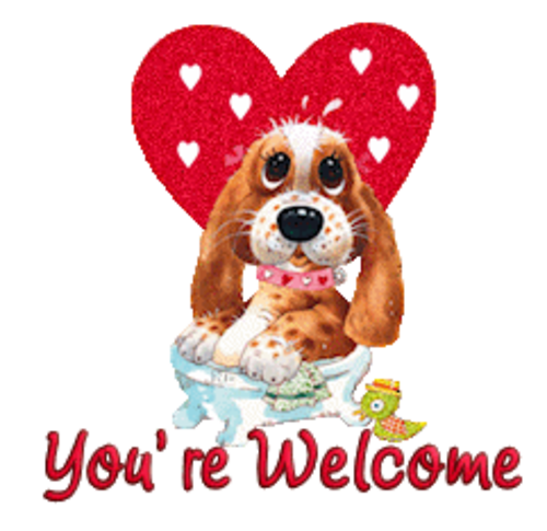 You're Welcome - ValentinePup2016