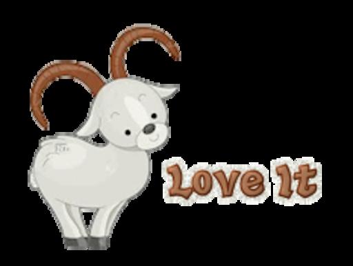 Love It - BighornSheep