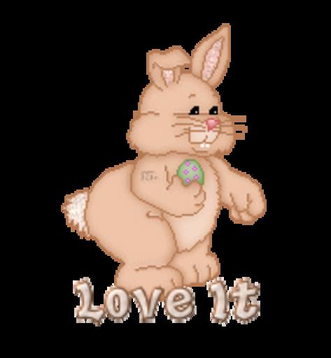 Love It - BunnyWithEgg