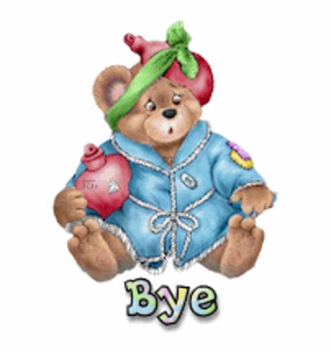 Bye - BearGetWellSoon