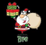 Bye - SantaDeliveringGifts
