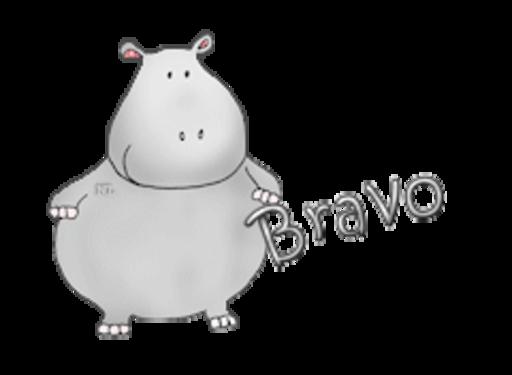Bravo - CuteHippo2018