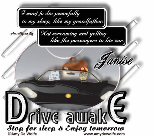 Janise DriveAwake AmyDeW Alyssia