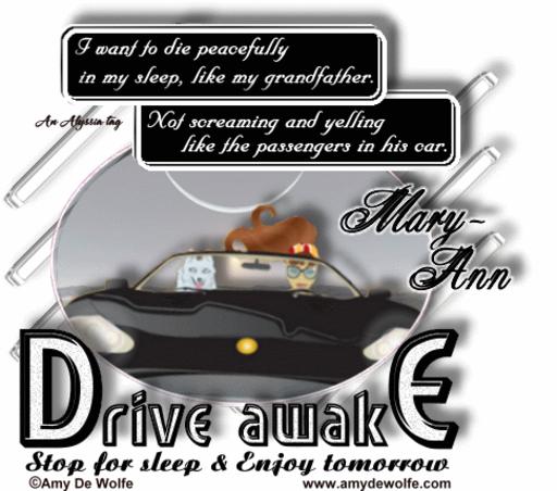 Mary-Ann DriveAwake AmyDeW Alyssia