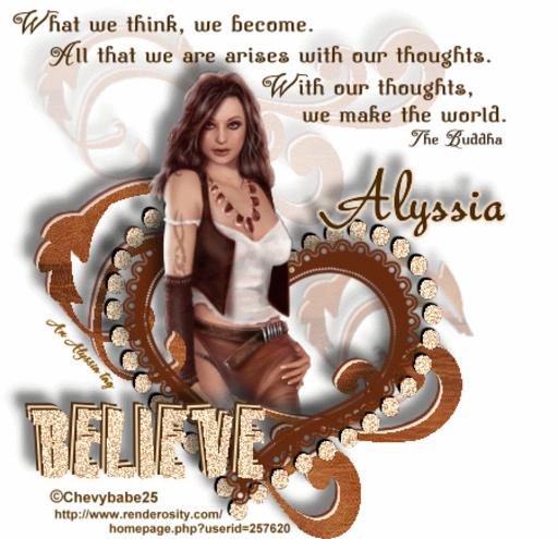 Alyssia Believe Chevyb Alyssia