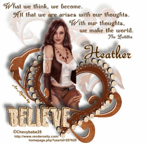 Heather Believe Chevyb Alyssia