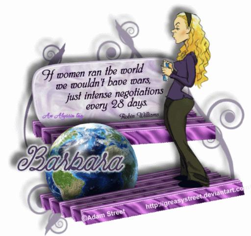 Barbara Negotiate AdamSt Alyssia