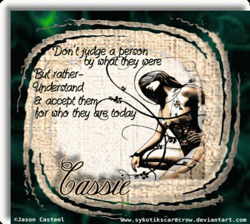 Cassie Understand JCast Alyssia